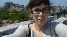 Laura en Edimburgo