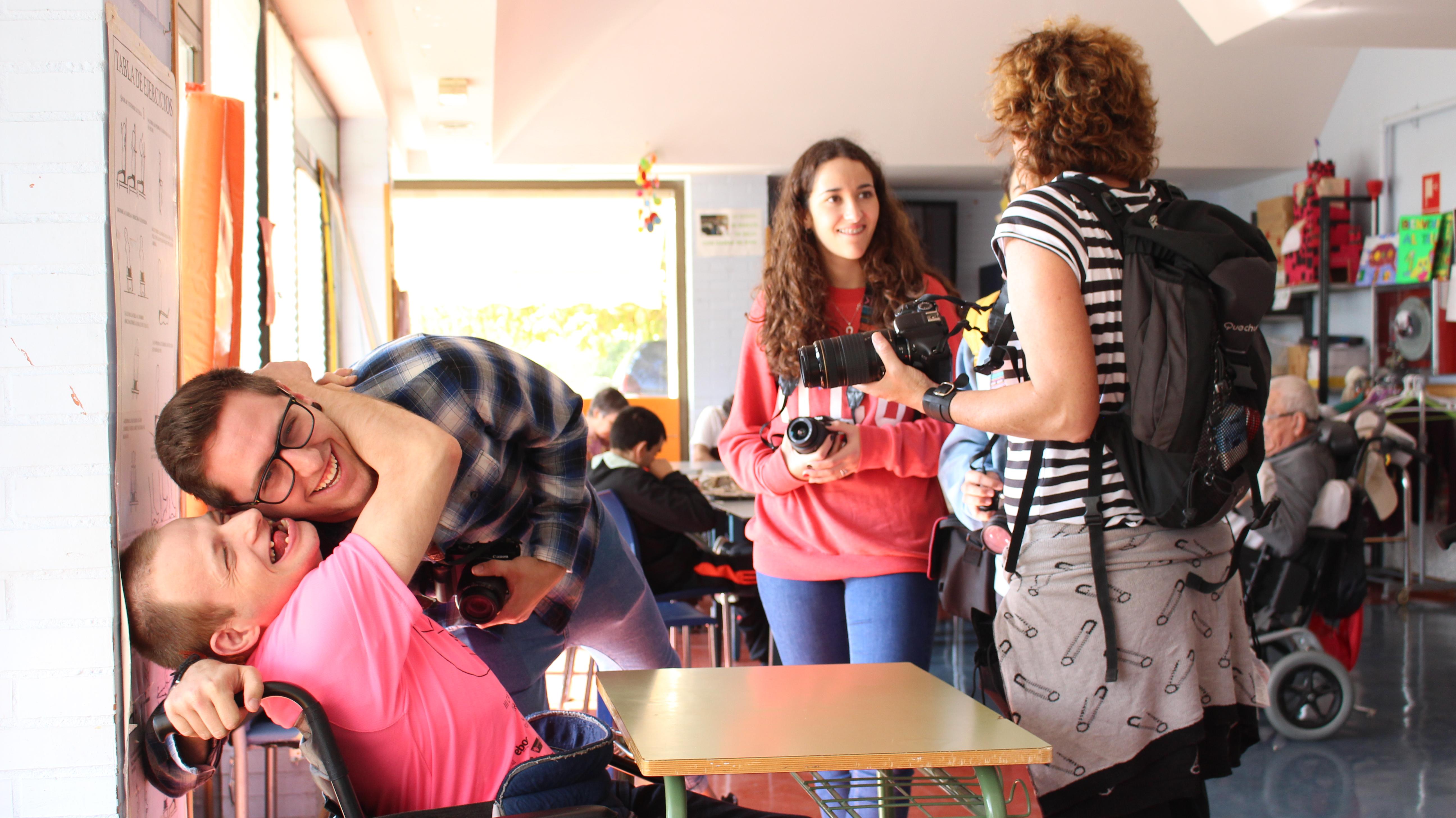 El ciclo de fotografía celebra el día de la parálisis cerebral