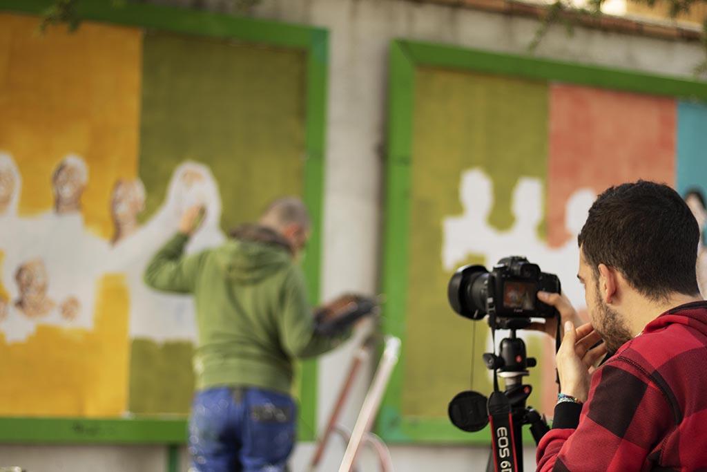 Salida fotográfica Reportaje Arte Mural Barrioh!