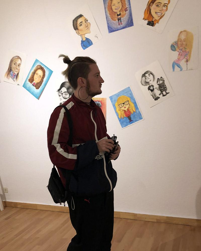 Exposición final de curso de Bachillerato