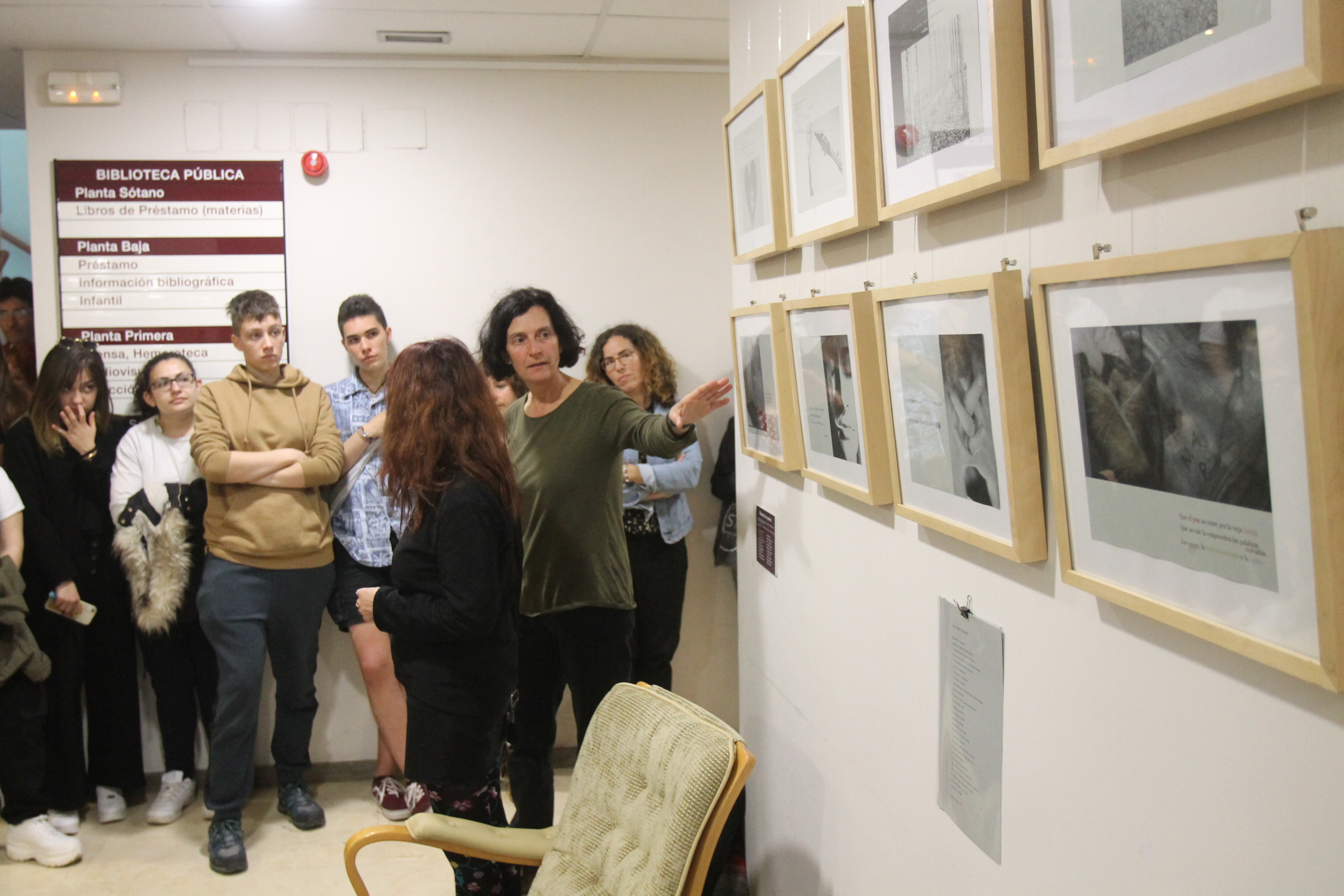 Escuela de Arte: Visiones de un poema
