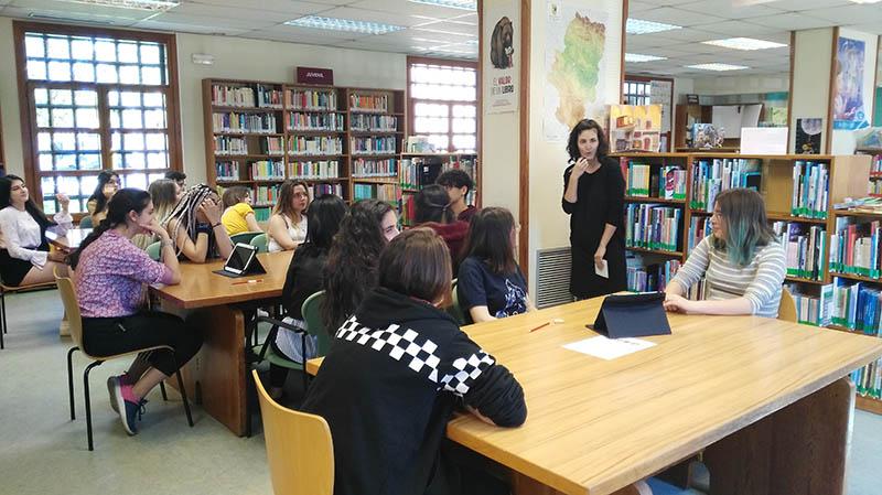 Gymkhana en la Biblioteca Pública de Huesca
