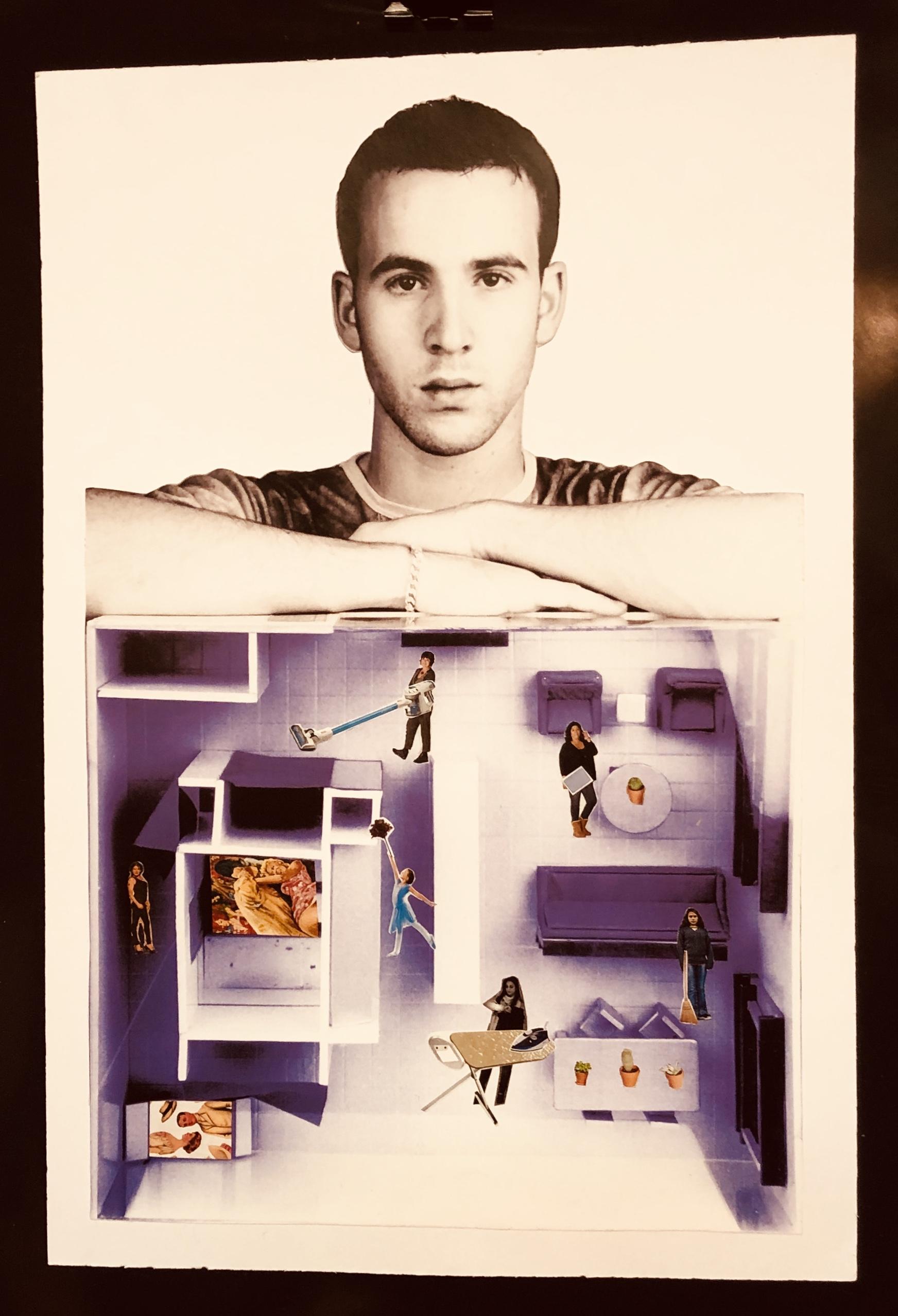 Concurso de collage contra la violencia de género